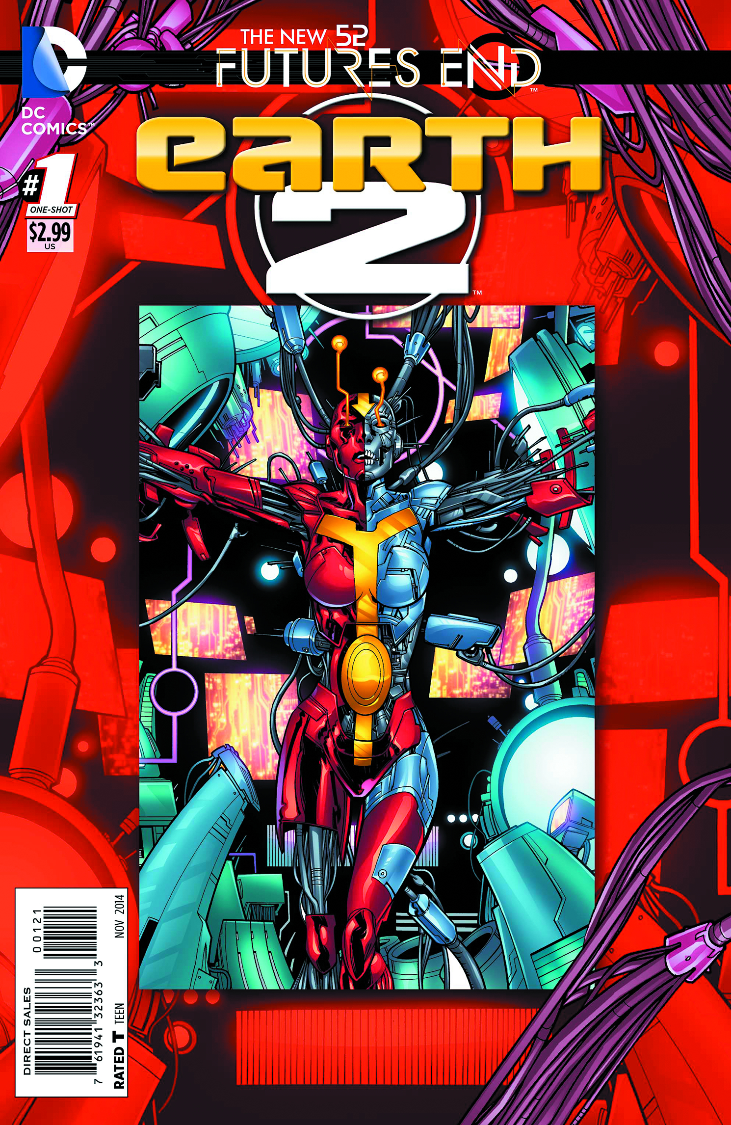 EARTH 2 FUTURES END #1 STANDARD ED