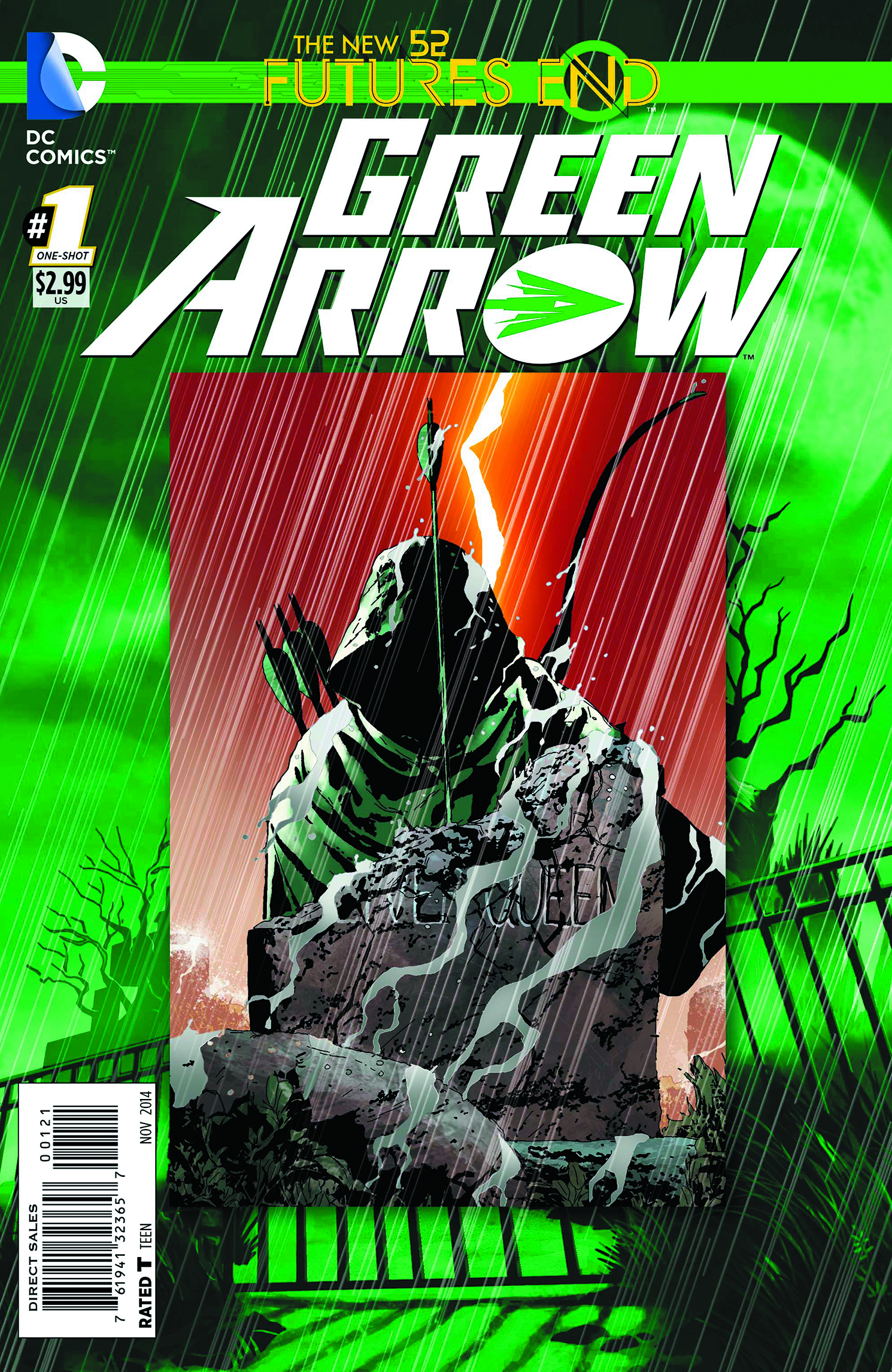 GREEN ARROW FUTURES END #1 STANDARD ED