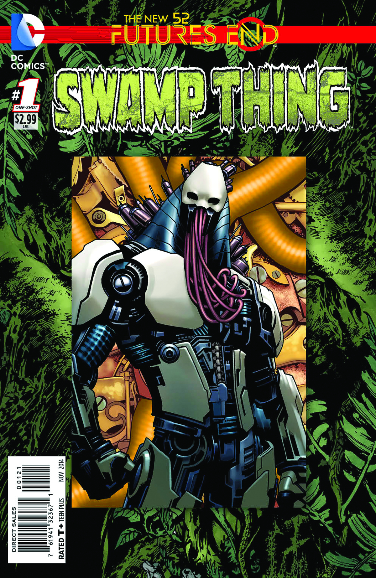 SWAMP THING FUTURES END #1 STANDARD ED