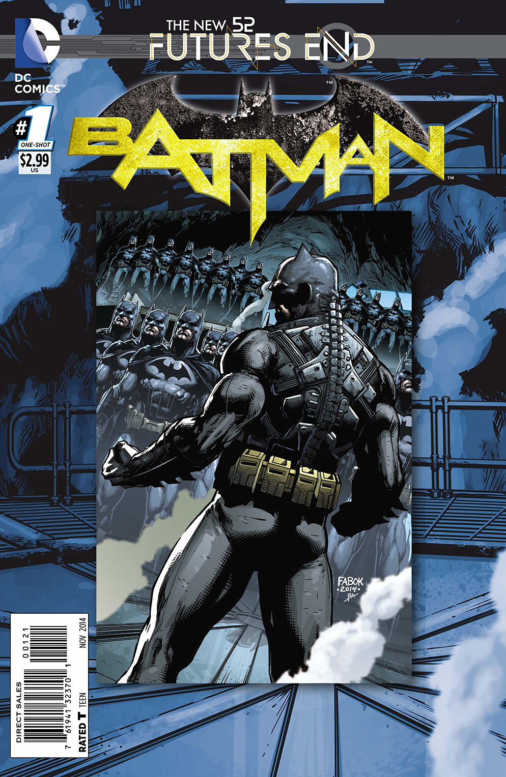 BATMAN FUTURES END #1 STANDARD ED