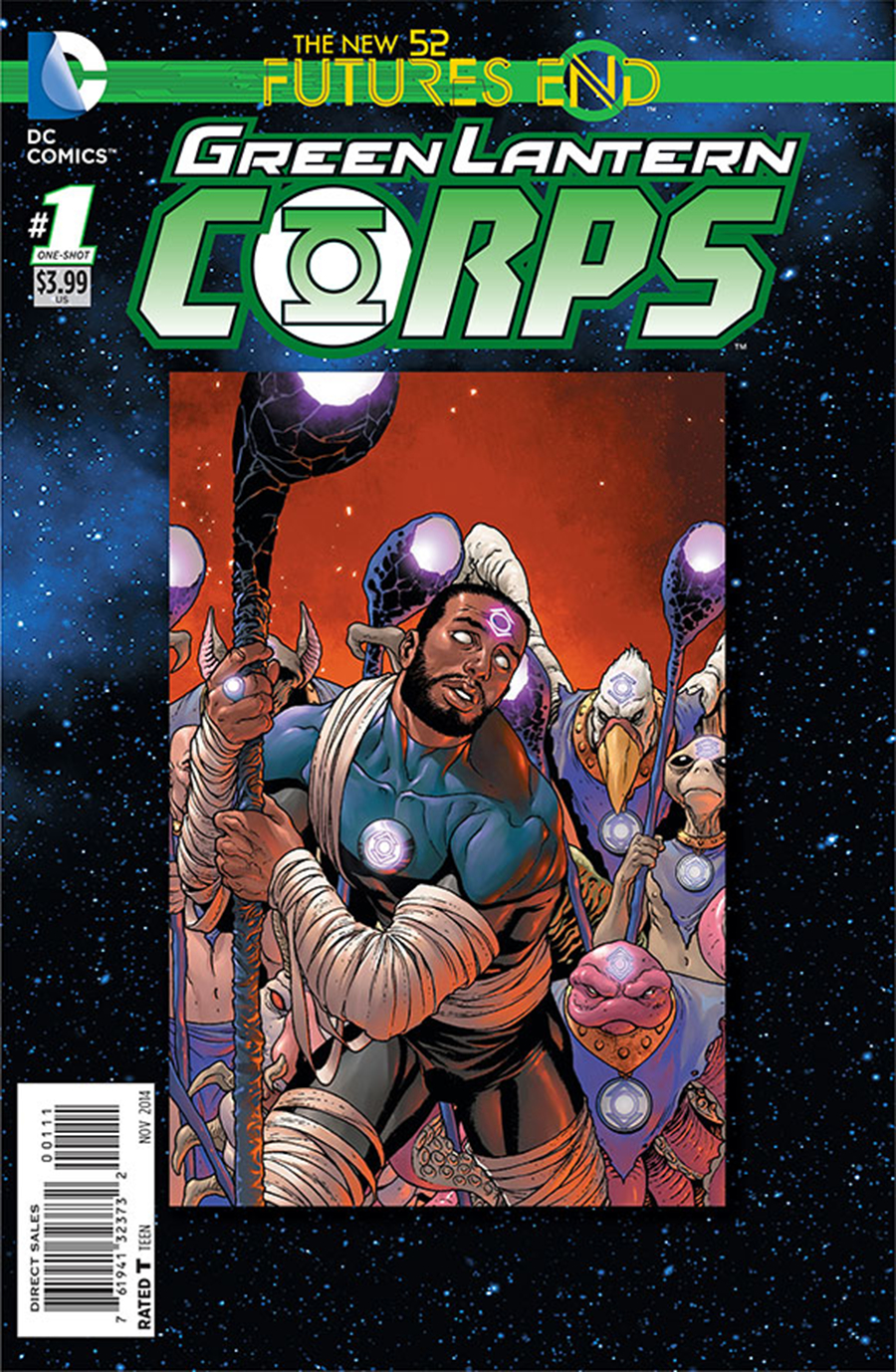 GREEN LANTERN CORPS FUTURES END #1