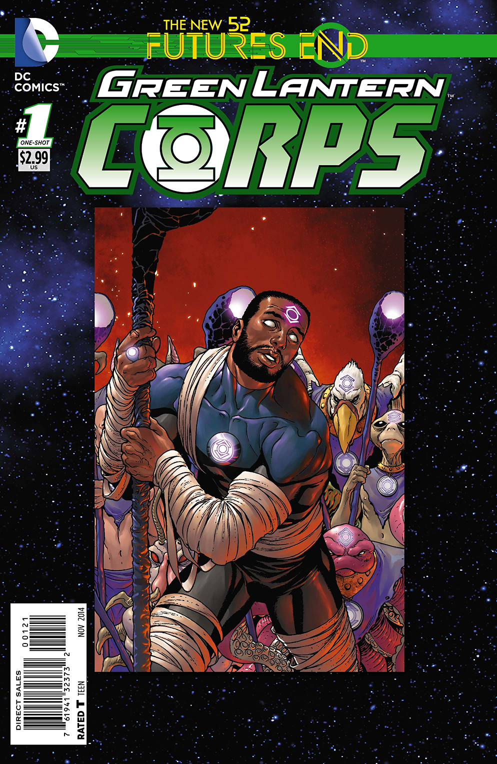 GREEN LANTERN CORPS FUTURES END #1 STANDARD ED
