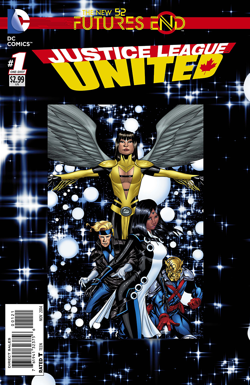 JUSTICE LEAGUE UNITED FUTURES END #1 STANDARD ED