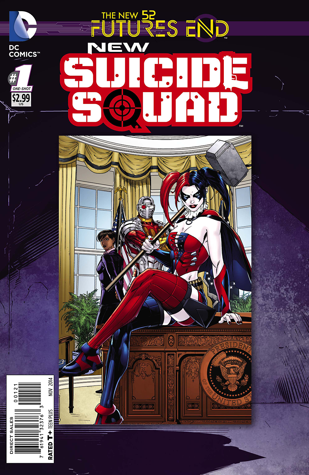 NEW SUICIDE SQUAD FUTURES END #1 STANDARD ED