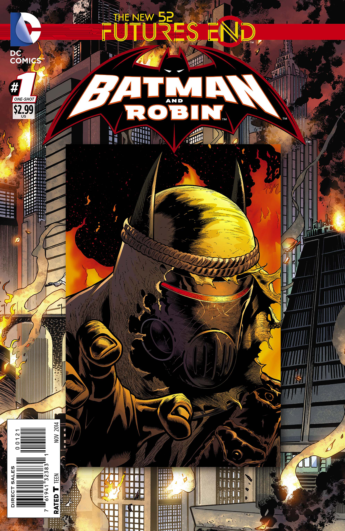 BATMAN AND ROBIN FUTURES END #1 STANDARD ED