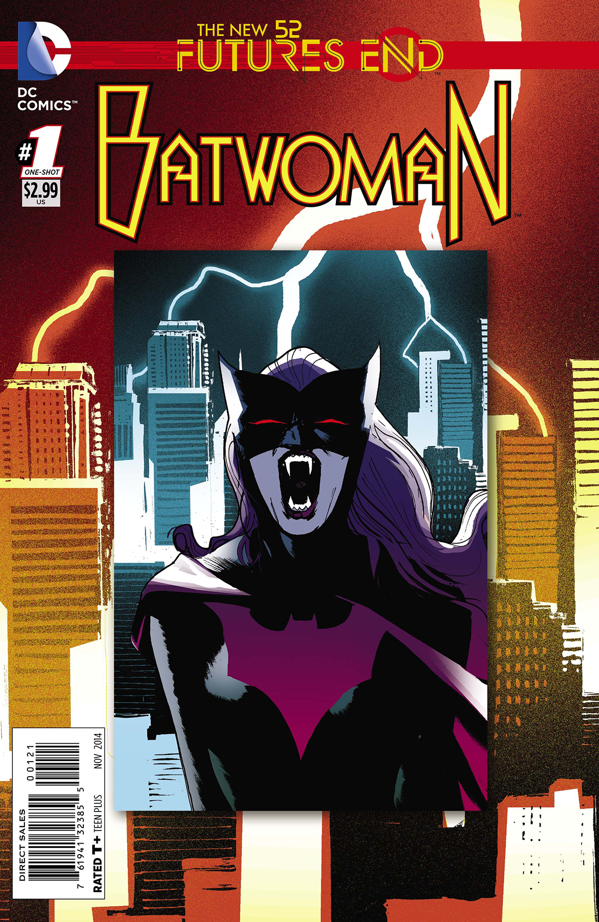 BATWOMAN FUTURES END #1 STANDARD ED