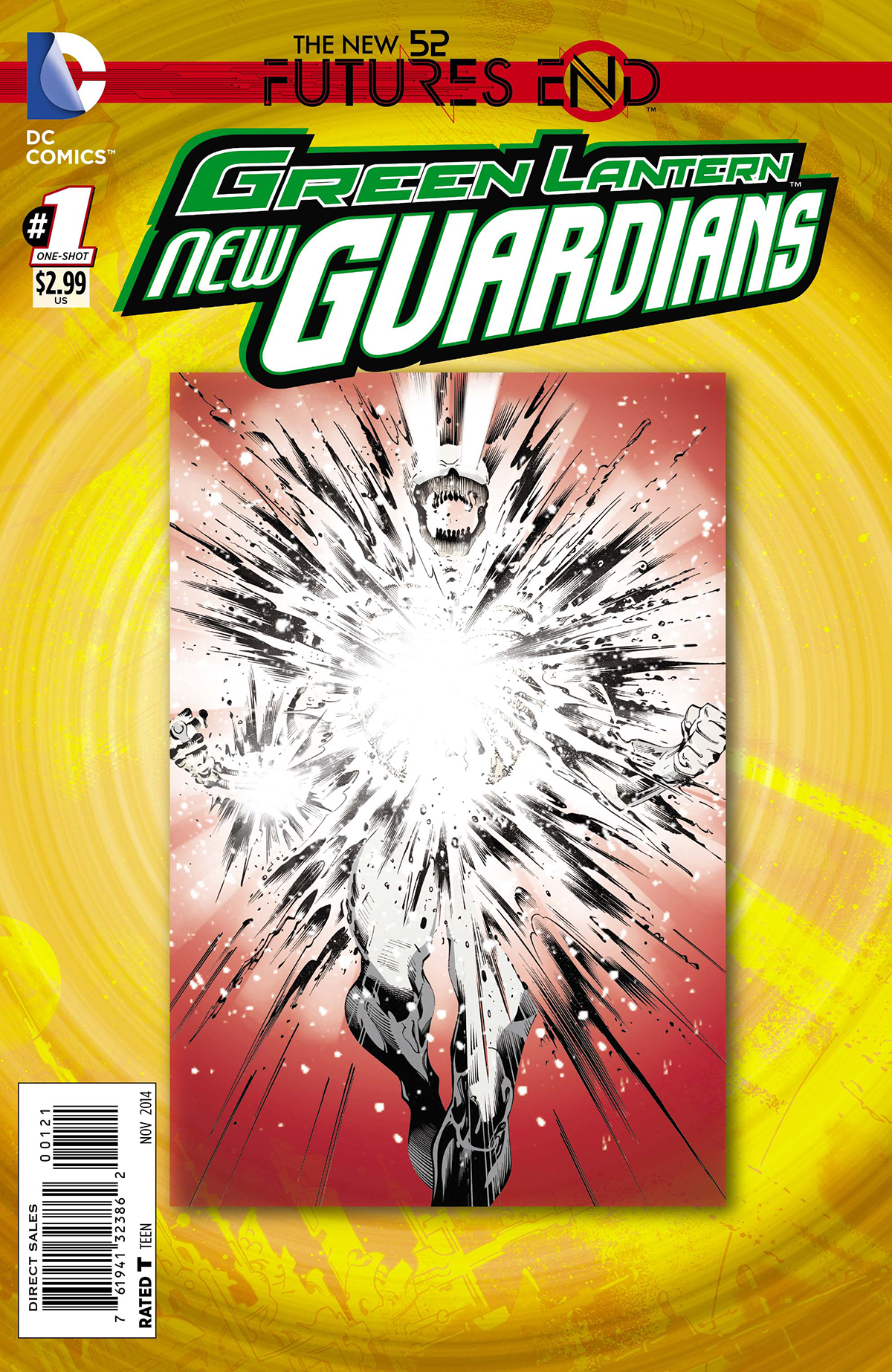 GREEN LANTERN NEW GUARDIANS FUTURES END #1 STANDARD ED
