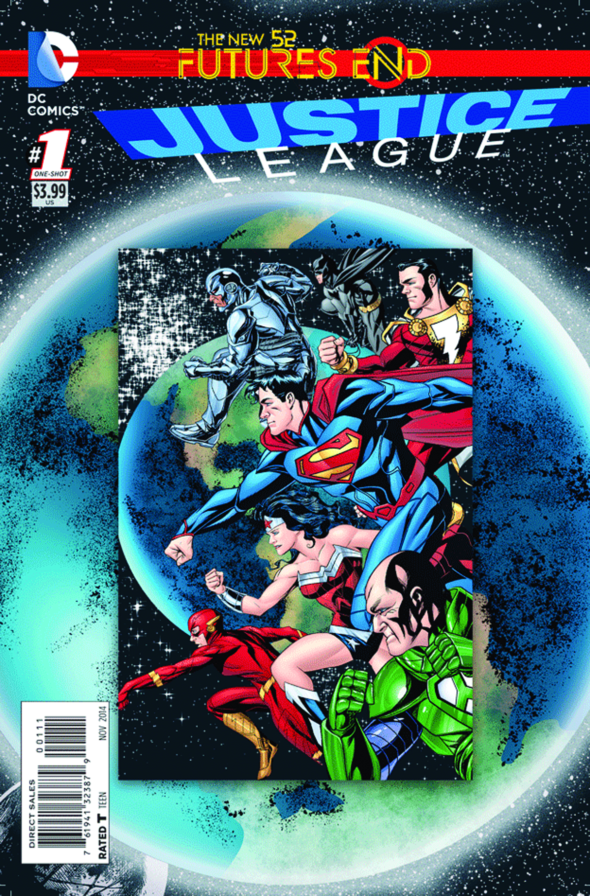 JUSTICE LEAGUE FUTURES END #1