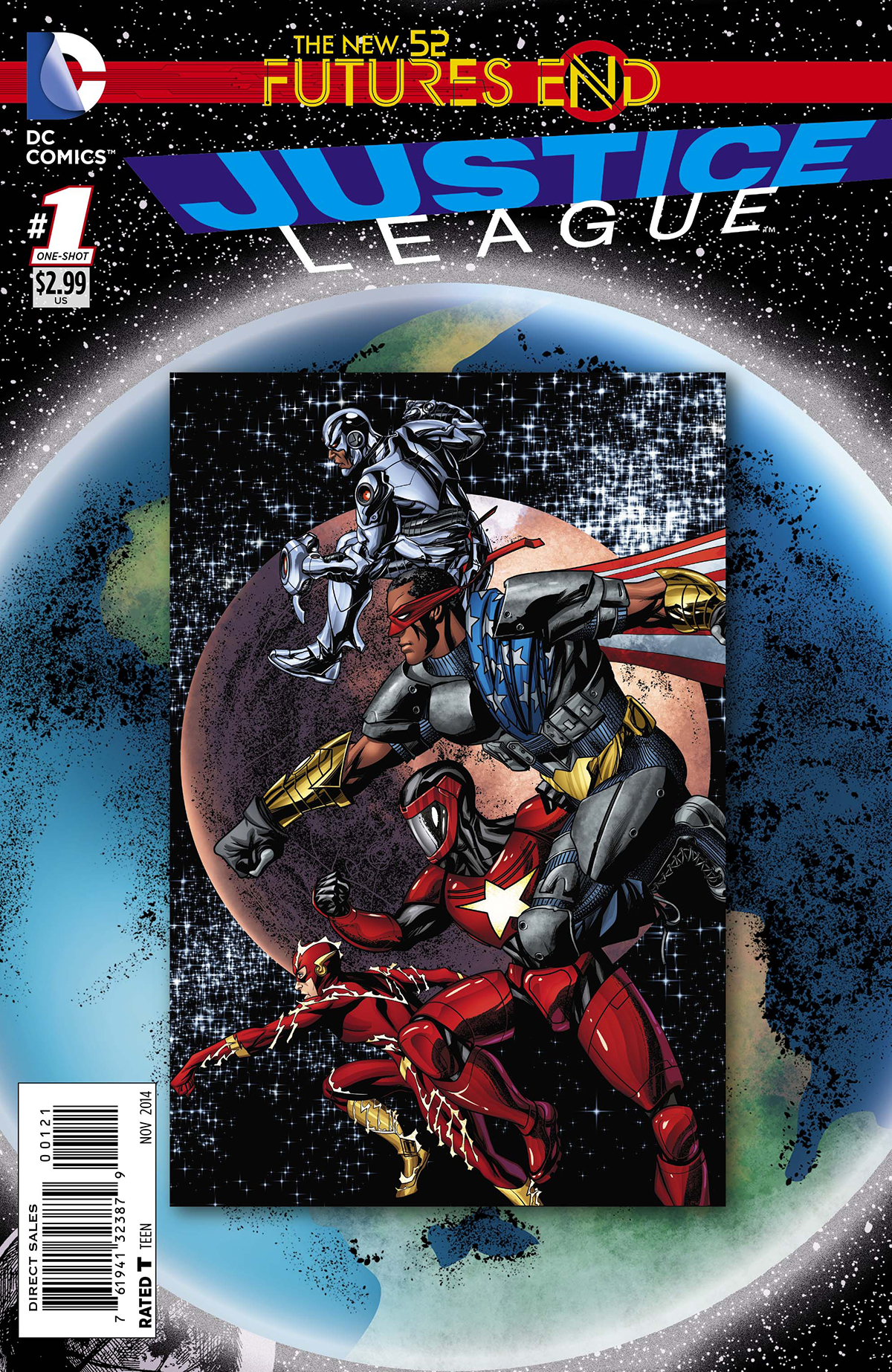 JUSTICE LEAGUE FUTURES END #1 STANDARD ED
