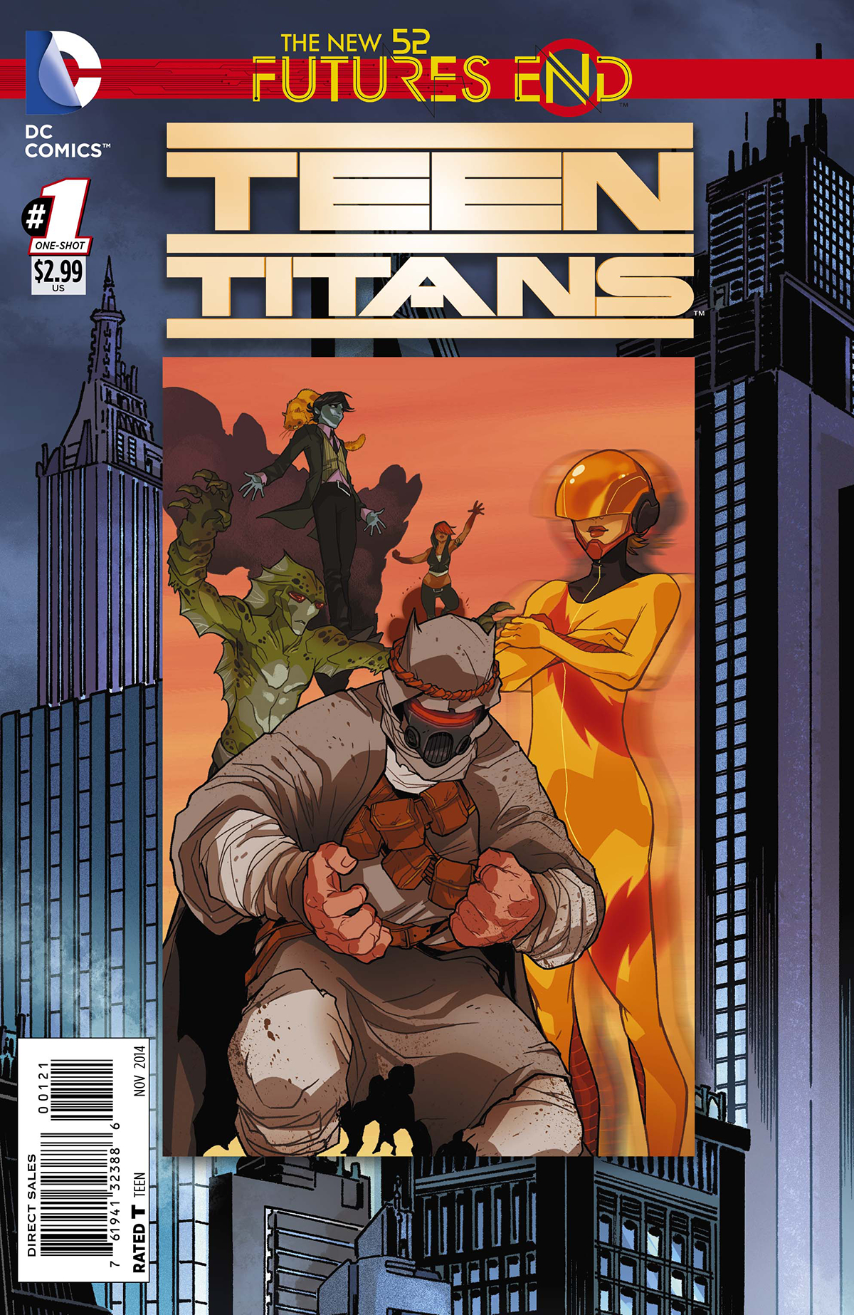 TEEN TITANS FUTURES END #1 STANDARD ED
