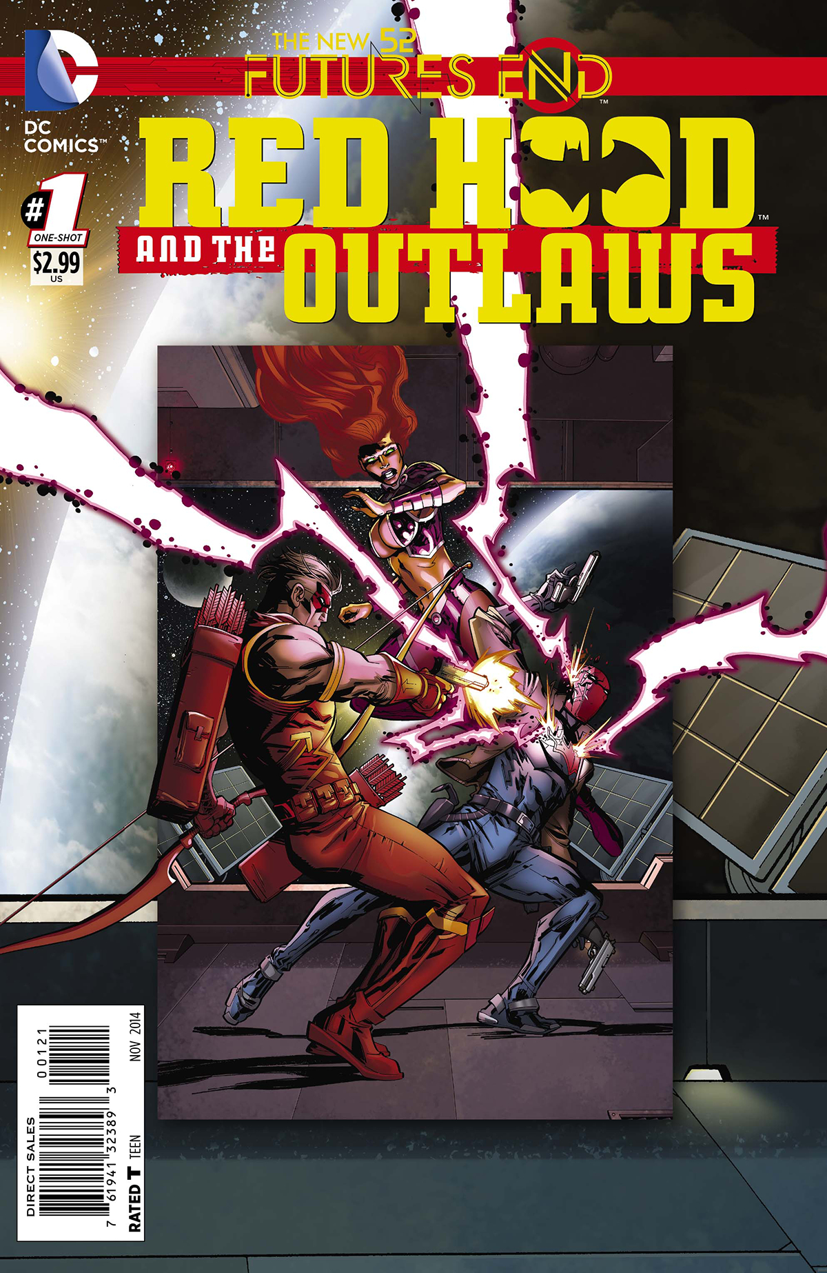 RED HOOD AND THE OUTLAWS FUTURES END #1 STANDARD ED