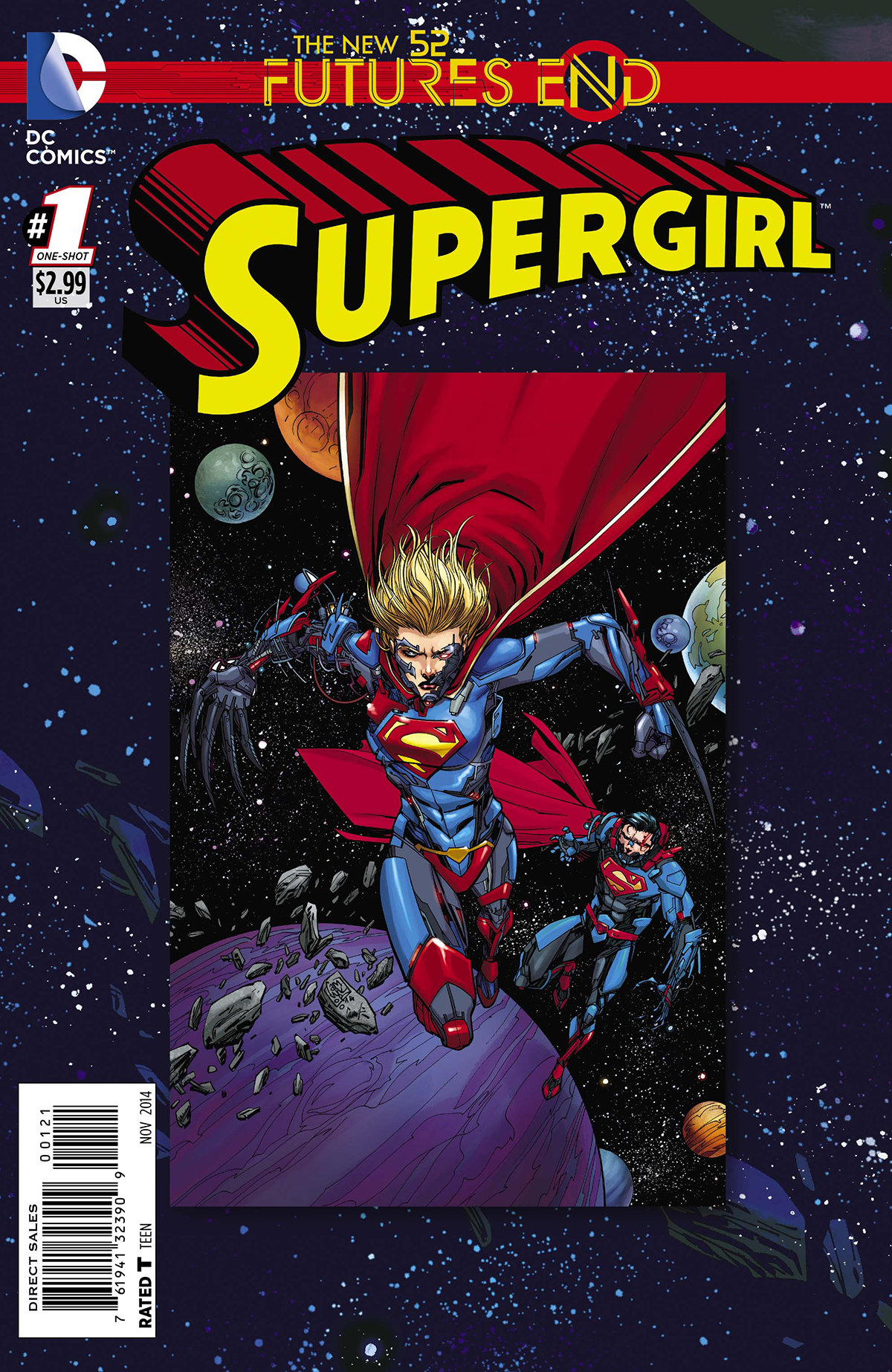SUPERGIRL FUTURES END #1 STANDARD ED
