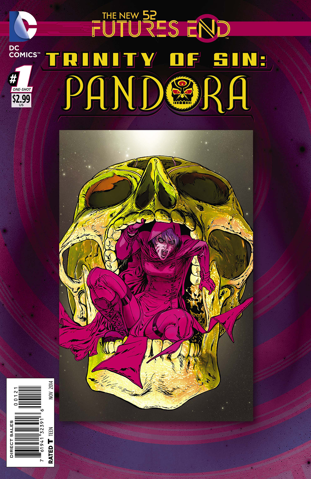 TRINITY OF SIN PANDORA FUTURES END #1 STANDARD ED