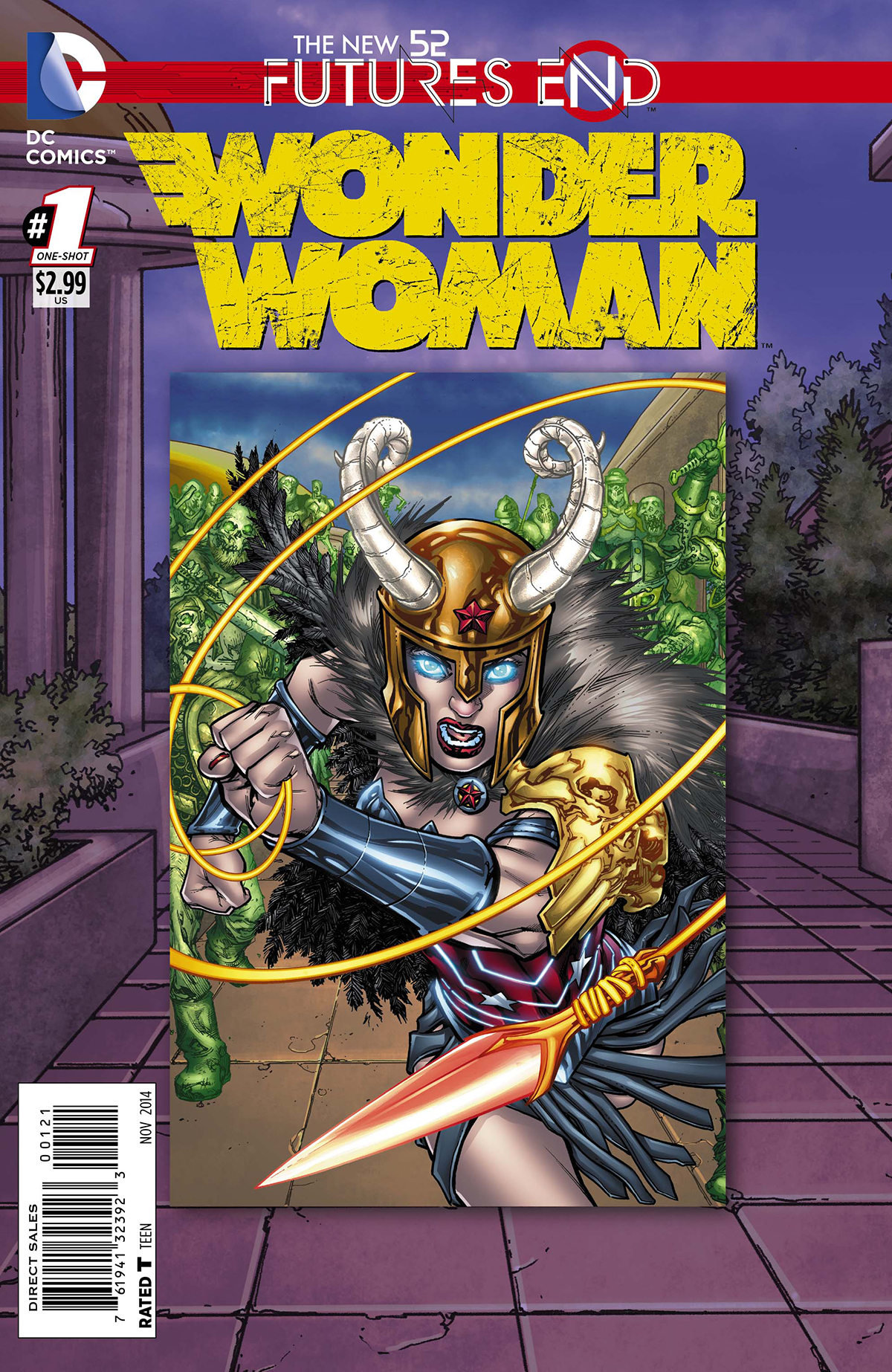 WONDER WOMAN FUTURES END #1 STANDARD ED