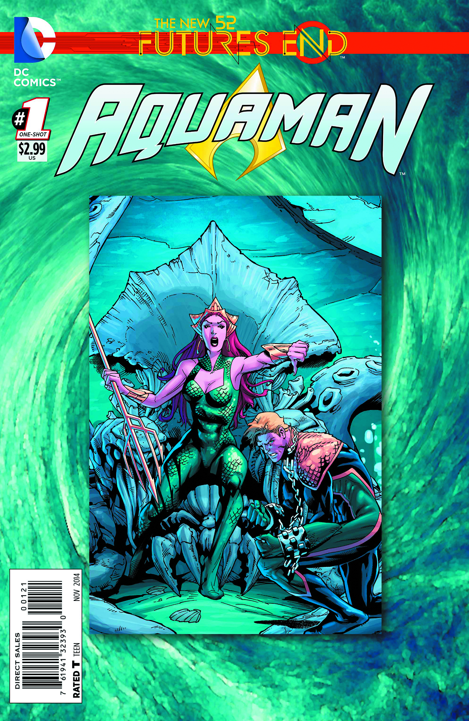 AQUAMAN FUTURES END #1 STANDARD ED