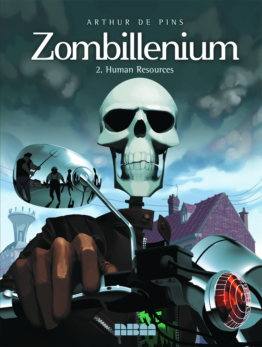 ZOMBILLENIUM HC VOL 02 HUMAN RESOURCES