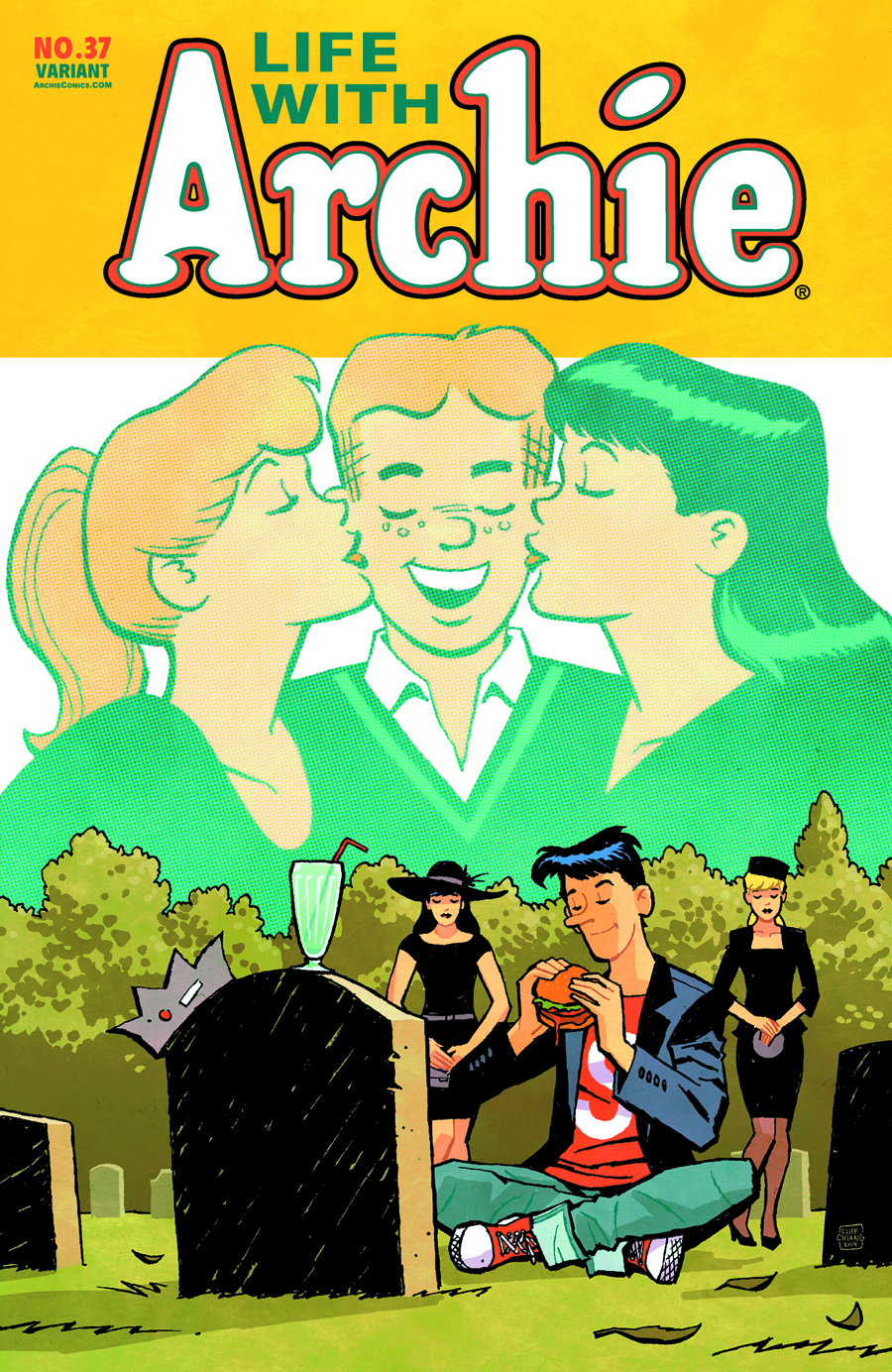LIFE WITH ARCHIE COMIC #37 CLIFF CHIANG CVR