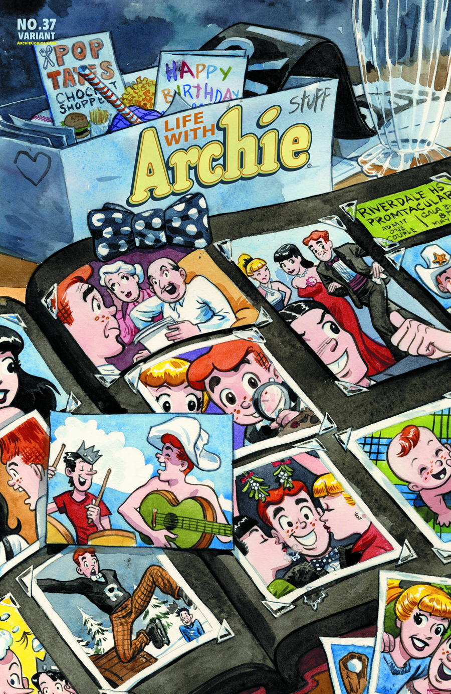 LIFE WITH ARCHIE COMIC #37 JILL THOMPSON CVR