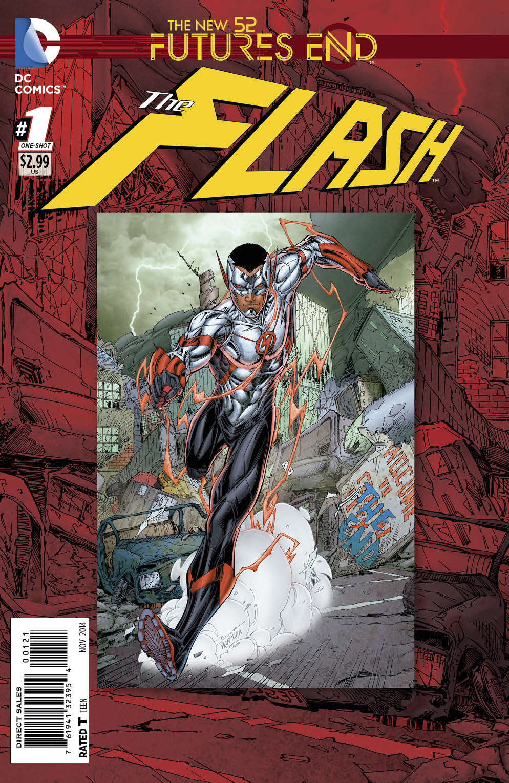 FLASH FUTURES END #1 STANDARD ED