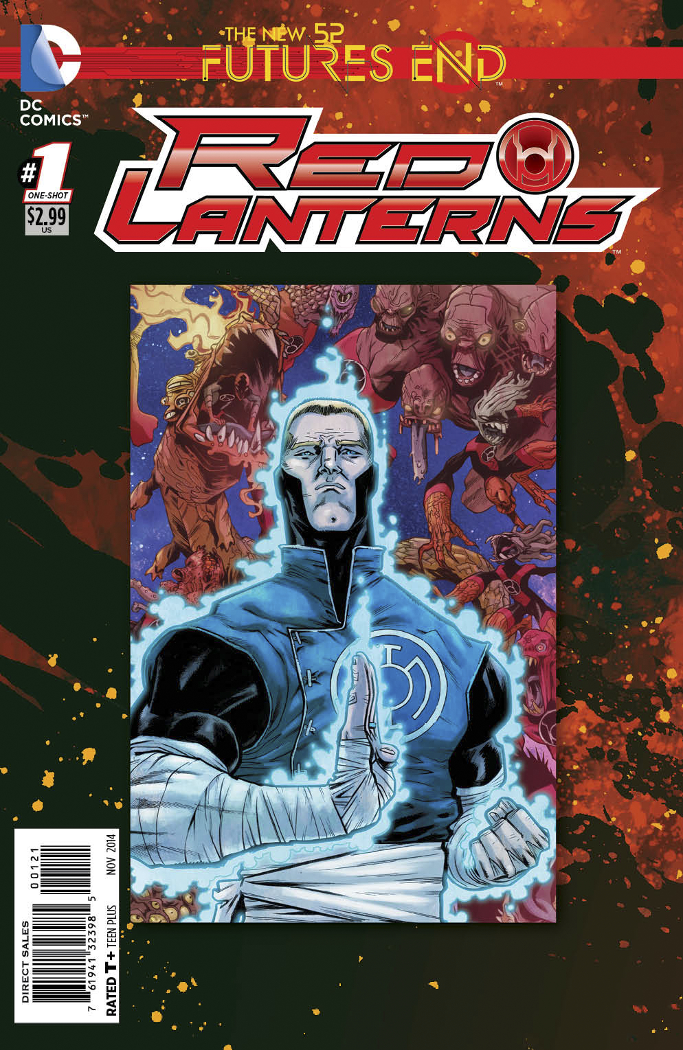 RED LANTERNS FUTURES END #1 STANDARD ED