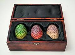 GAME OF THRONES COLLECTABLE DRAGON EGG BOX