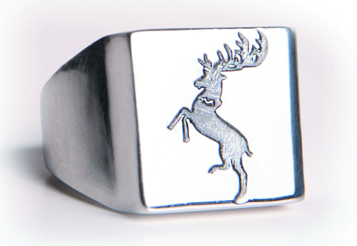 GAME OF THRONES BARATHEON RING SZ 7