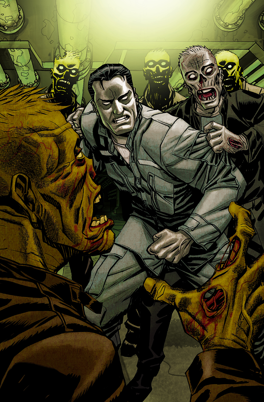 STAR SPANGLED WAR STORIES GI ZOMBIE FUTURES END #1