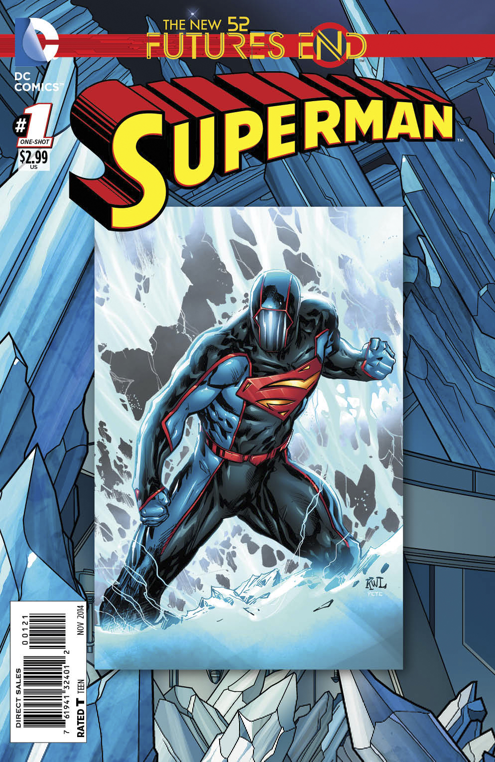 SUPERMAN FUTURES END #1 STANDARD ED