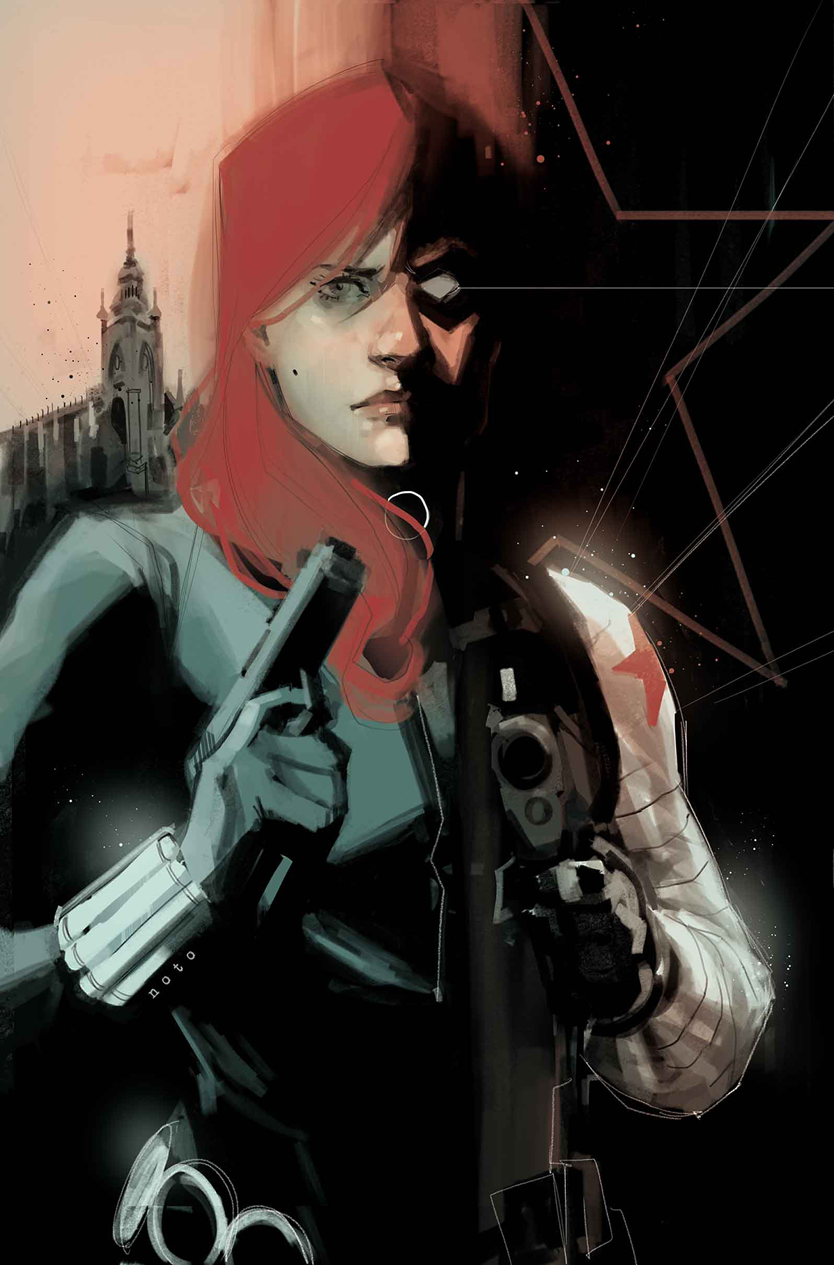 BLACK WIDOW #8