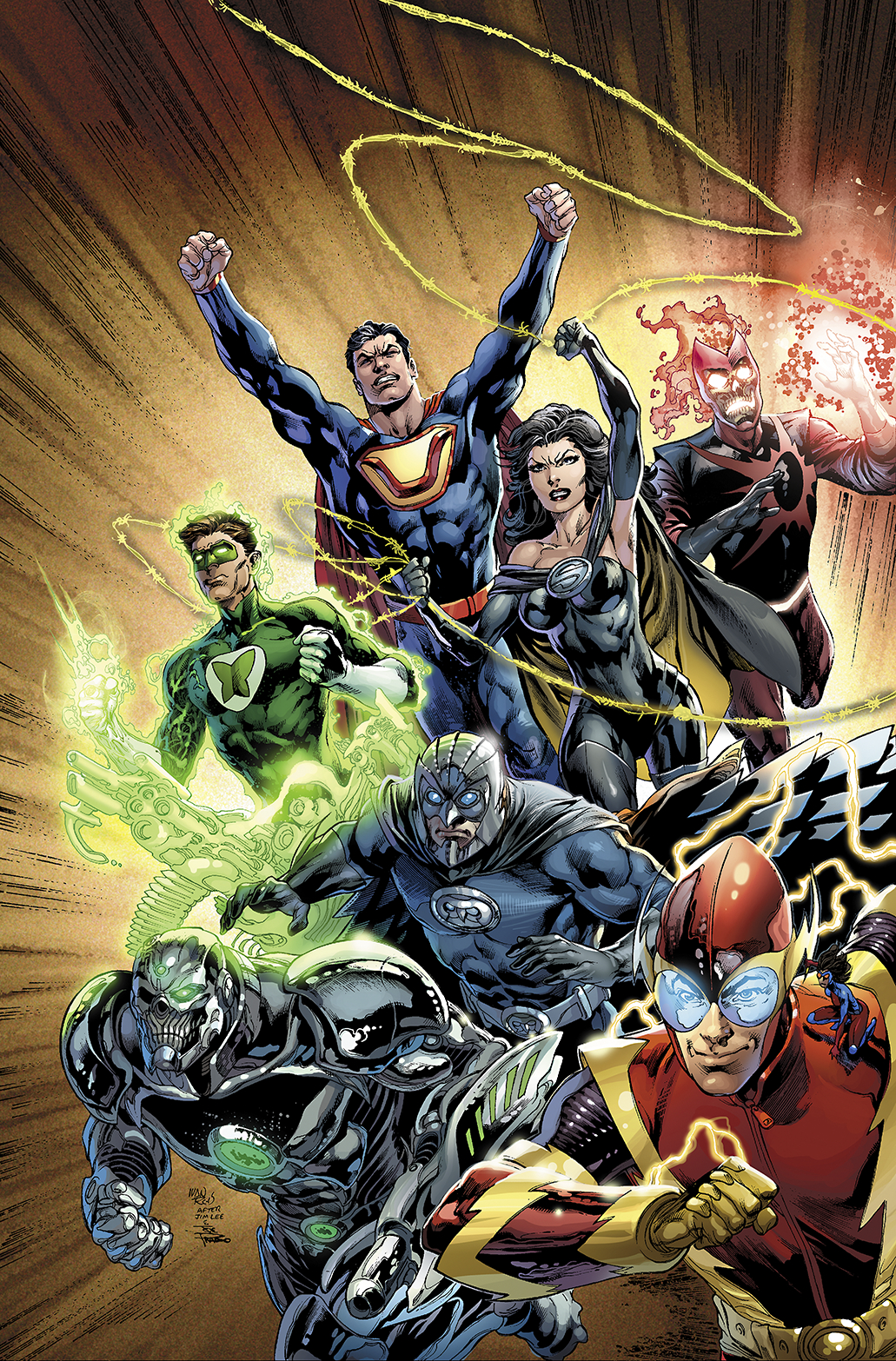 JUSTICE LEAGUE HC VOL 05 FOREVER HEROES