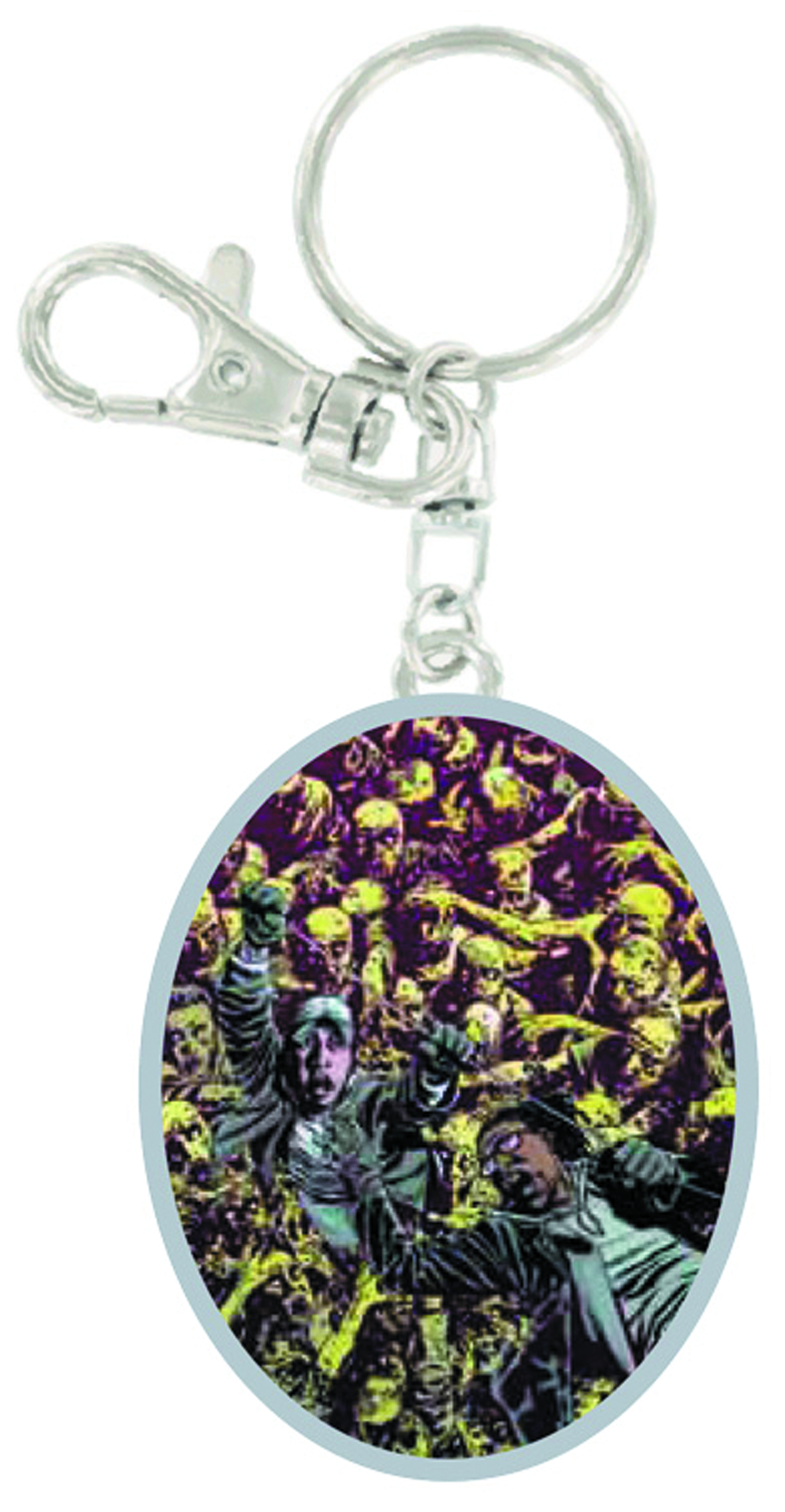 WALKING DEAD ZOMBIE MOB KEYCHAIN