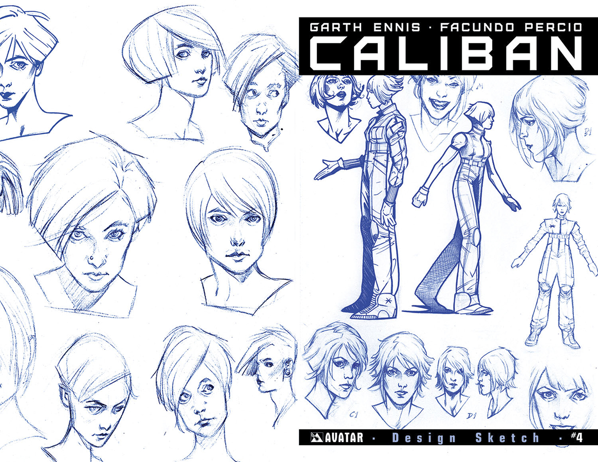 CALIBAN #4 DESIGN SKETCH ORDER INCV