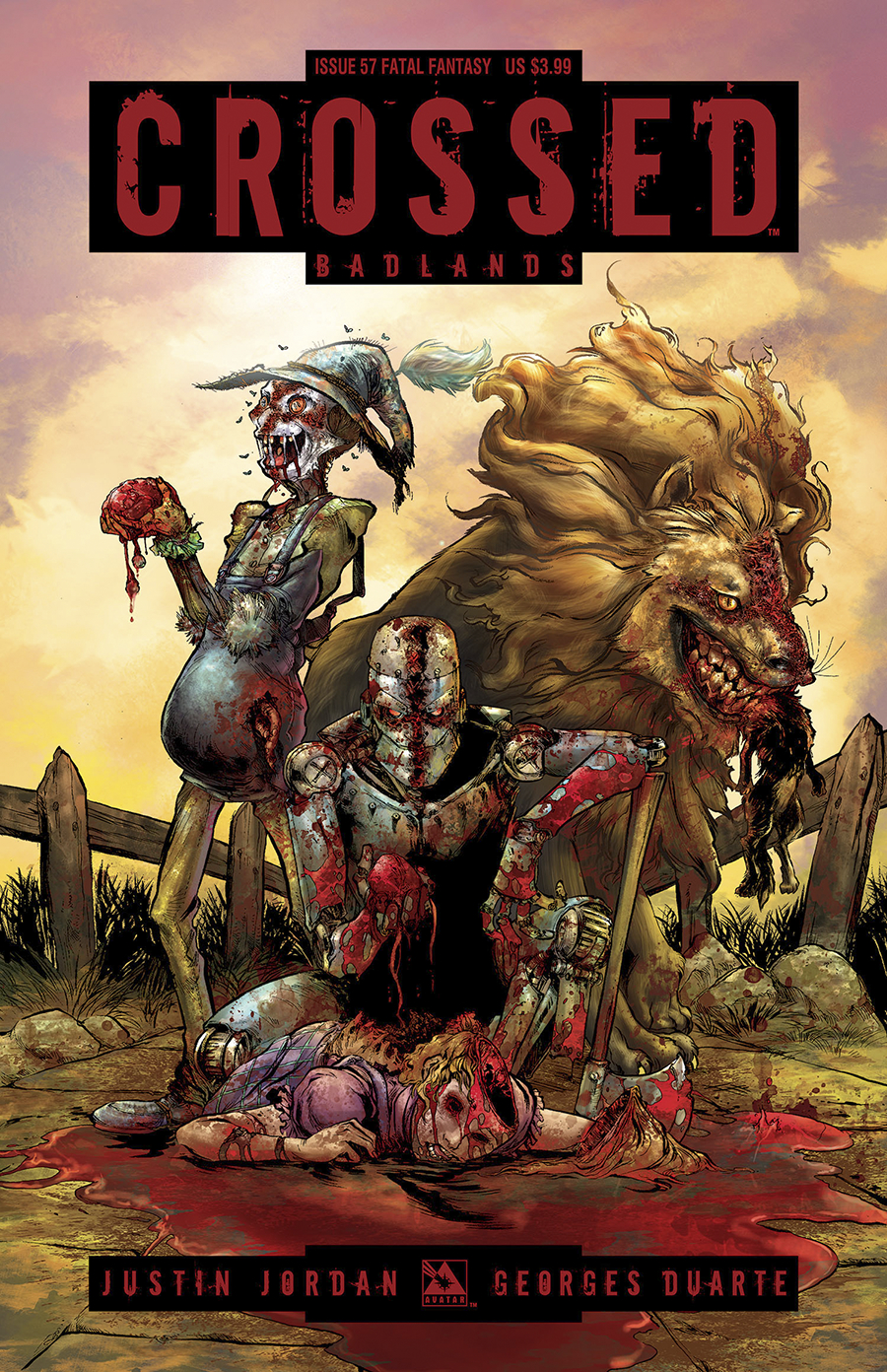 CROSSED BADLANDS #57 FATAL FANTASY CVR