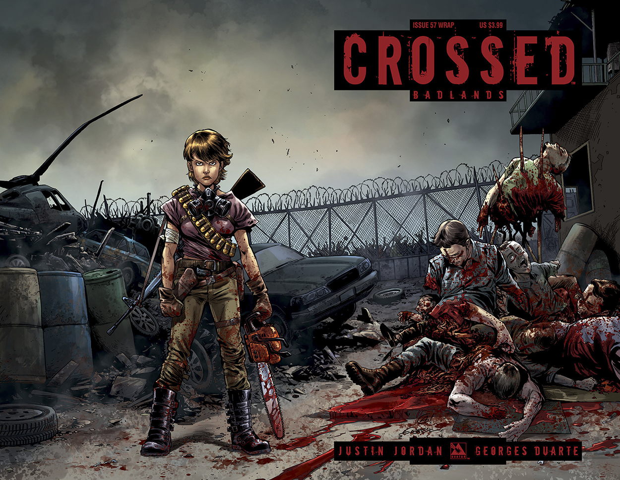 CROSSED BADLANDS #57 WRAP CVR