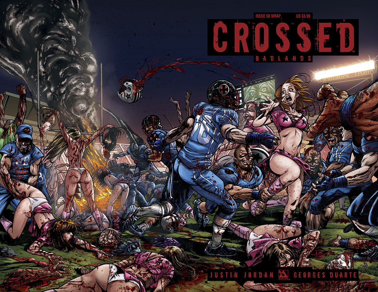 CROSSED BADLANDS #58 WRAP CVR