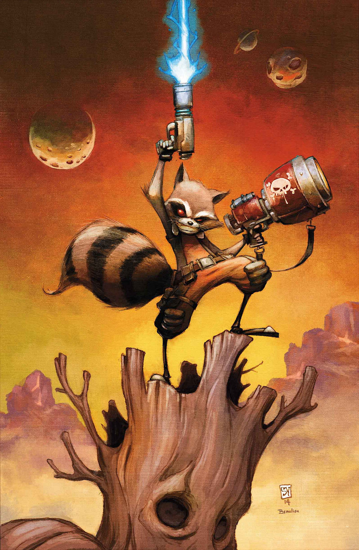 ROCKET RACCOON #1 ANMN