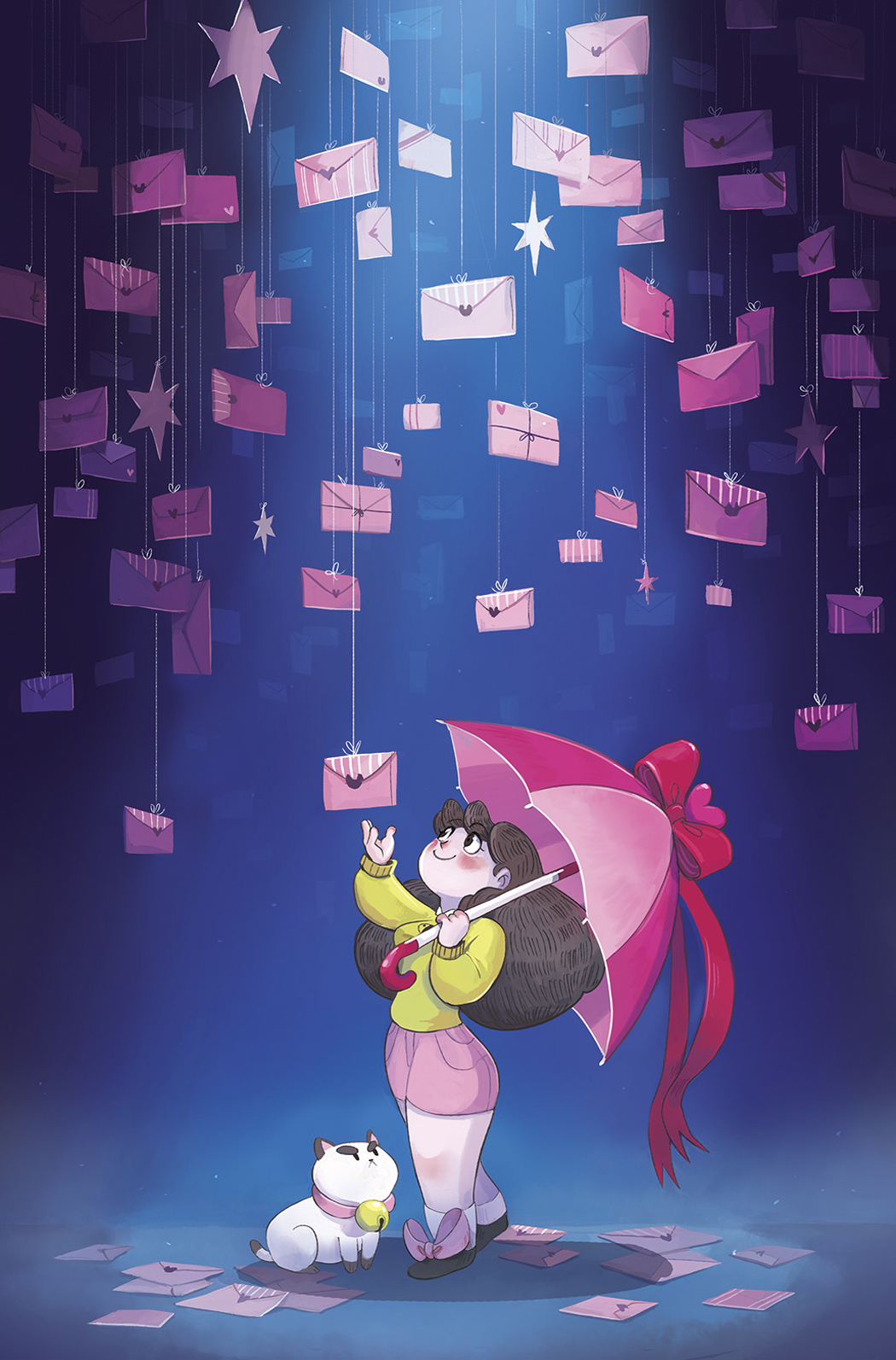 BEE AND PUPPYCAT #3 15 COPY INCV GARLAND VAR