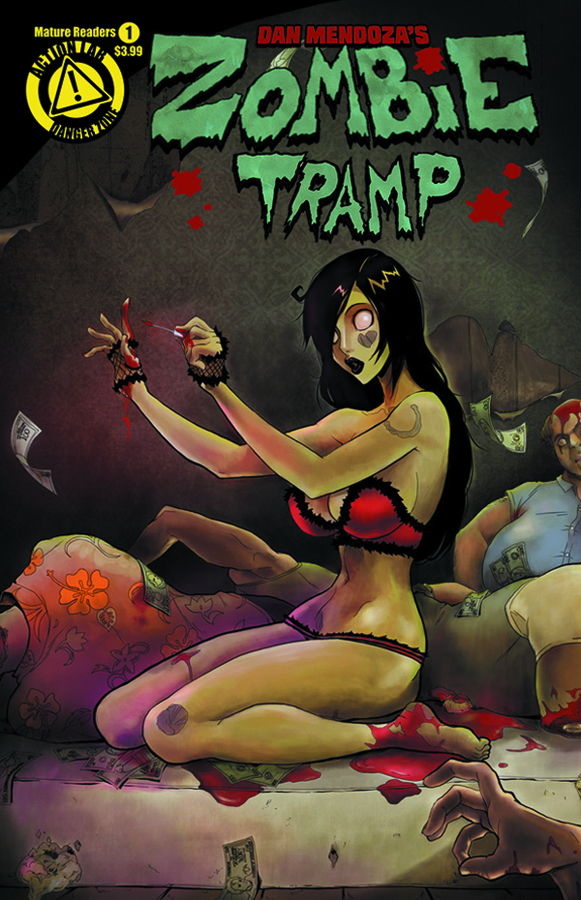 ZOMBIE TRAMP ONGOING #1 MAIN COVER