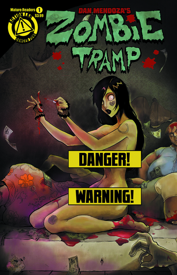 ZOMBIE TRAMP ONGOING #1 RISQUE VAR