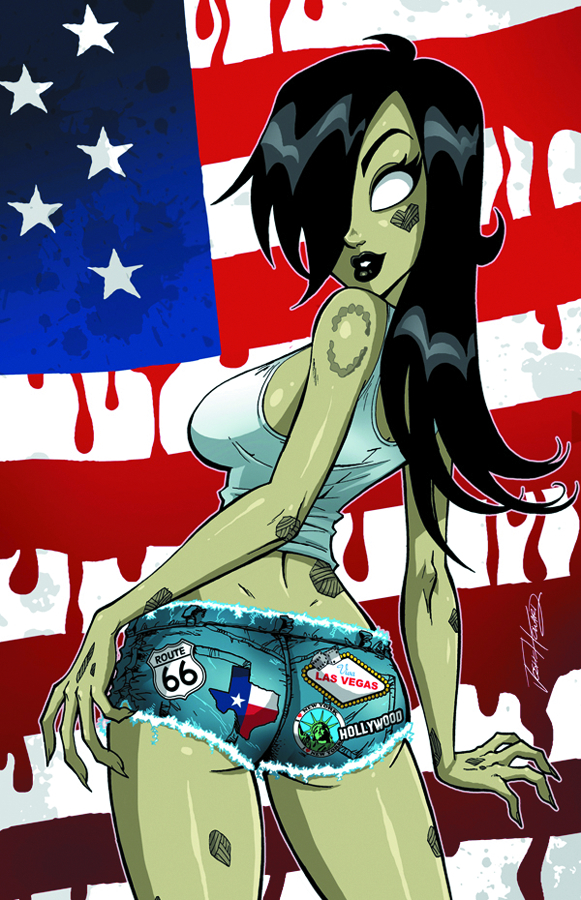 ZOMBIE TRAMP ONGOING #1 JOSH HOWARD VAR