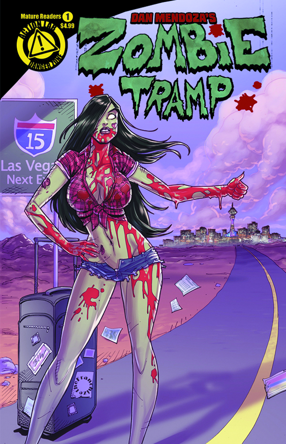 ZOMBIE TRAMP ONGOING #1 JERRY GAYLORD VAR
