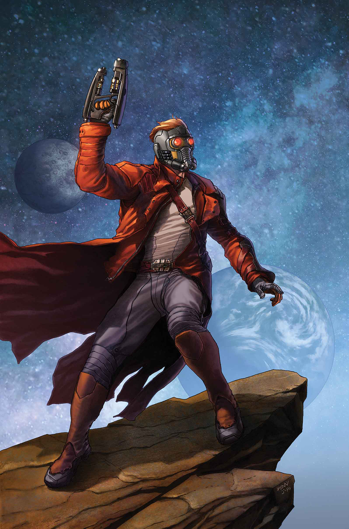 LEGENDARY STAR LORD #1 ANMN