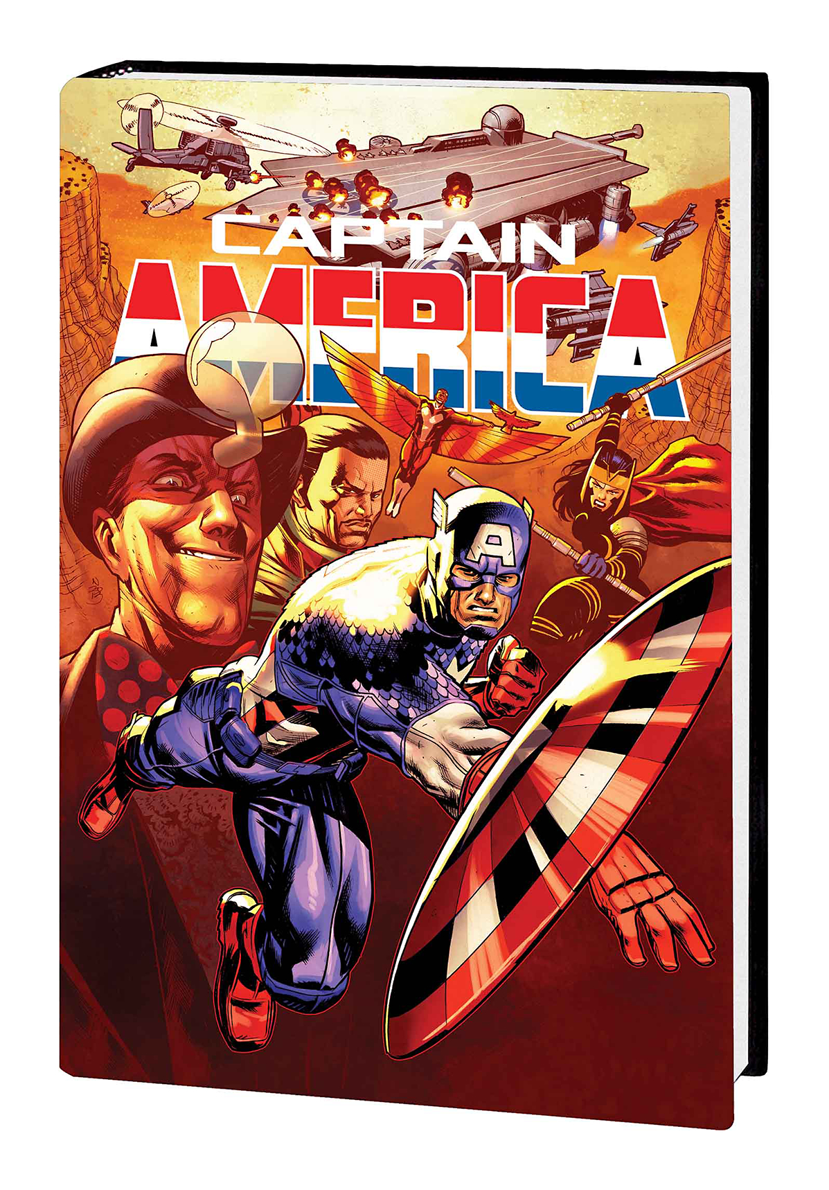 CAPTAIN AMERICA PREM HC VOL 04 IRON NAIL