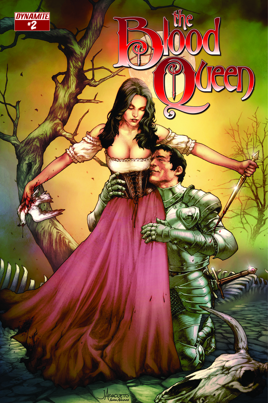 BLOOD QUEEN #2 CVR B GARZA