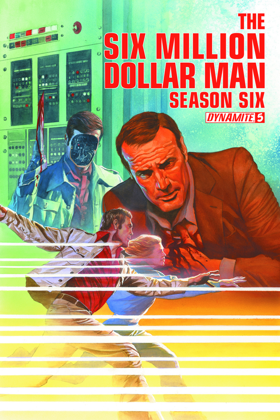 SIX MILLION DOLLAR MAN SEASON 6 #5 35 COPY GOLD SGN INCV