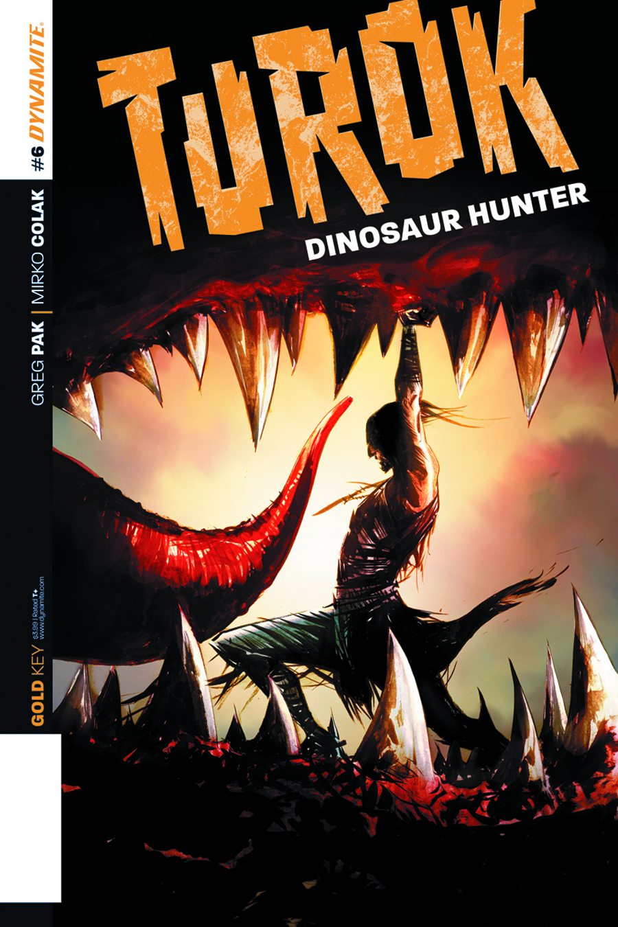 TUROK DINOSAUR HUNTER #6 LEE EXC SUBSCRIPTION VAR