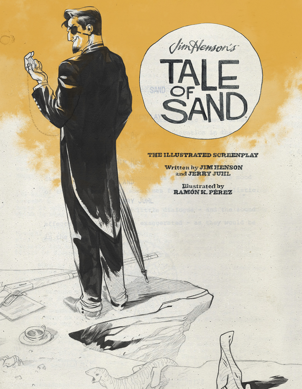 JIM HENSONS TALE OF SAND ILLUSTRATED SCREENPLAY HC