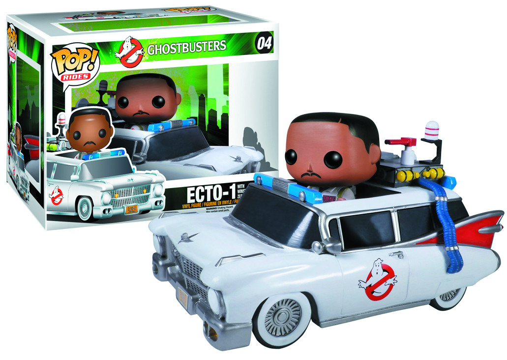 POP RIDES GHOSTBUSTERS ECTO-1/WINSTON VIN FIG