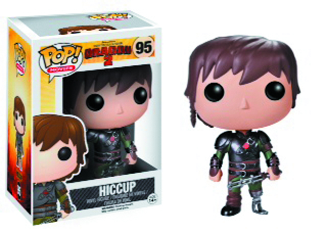 POP HTTYD HICCUP VINYL FIG