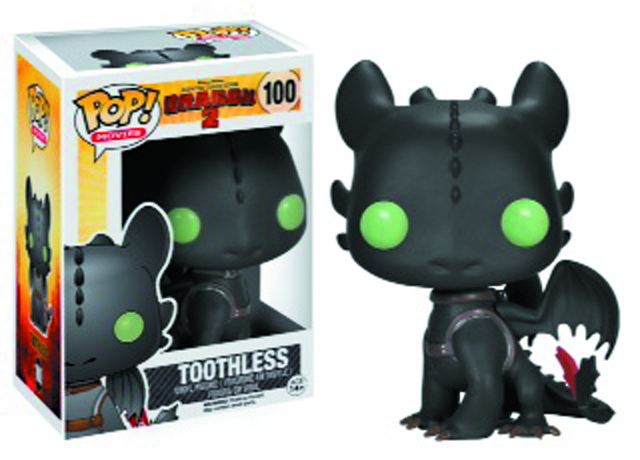 POP HTTYD TOOTHLESS VINYL FIG